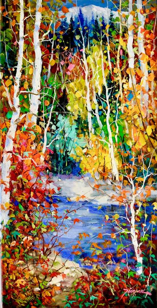 Autumn Joy by  Tinyan Chan - Masterpiece Online