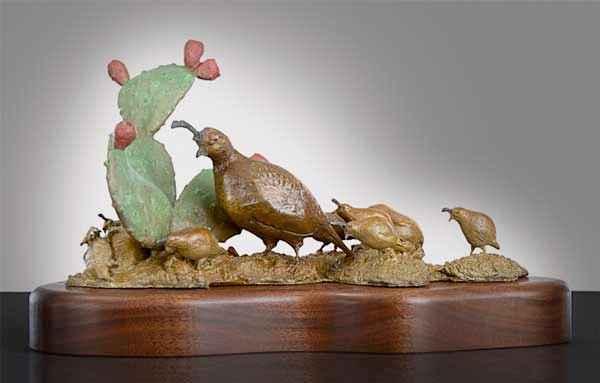 Sonoran Standoff by  Burneta Venosdel - Masterpiece Online