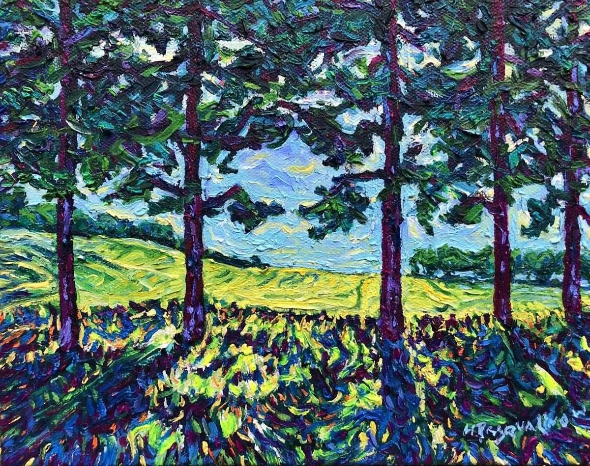 Tree Line  by  Heather Pasqualino