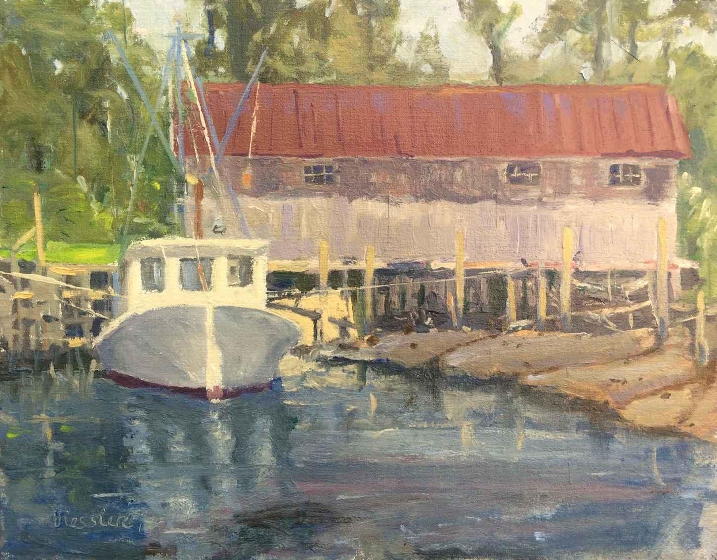 Low Tide, Davis by  Steve Hessler - Masterpiece Online