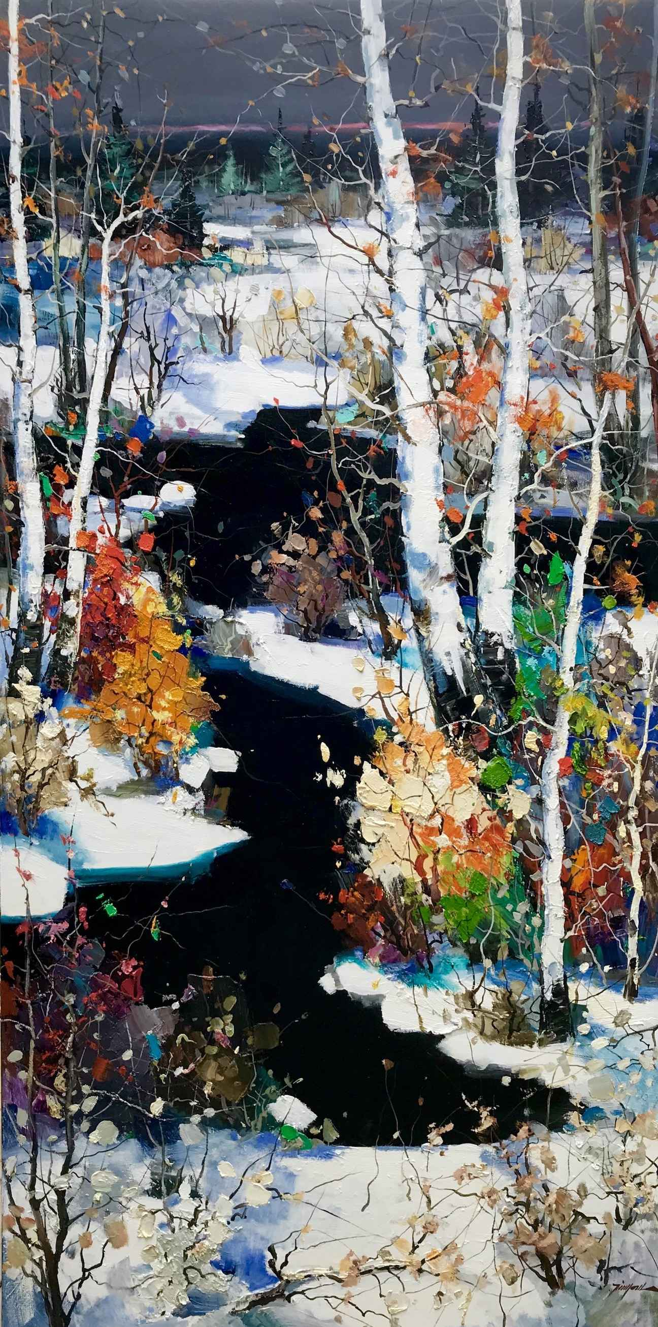 Winter Impressions by  Tinyan Chan - Masterpiece Online