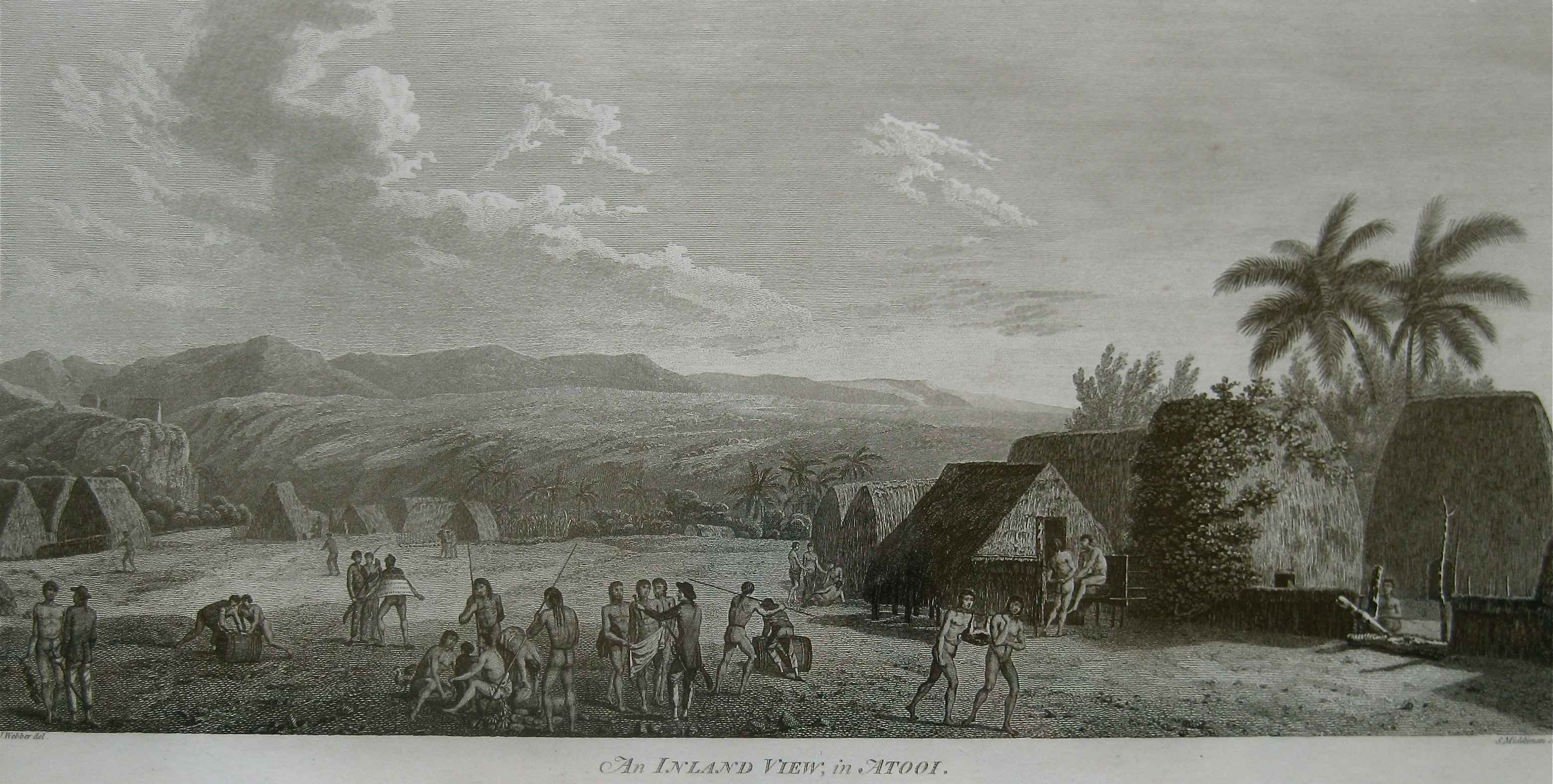 An Inland View, in At... by  John Webber (1752-1793) - Masterpiece Online