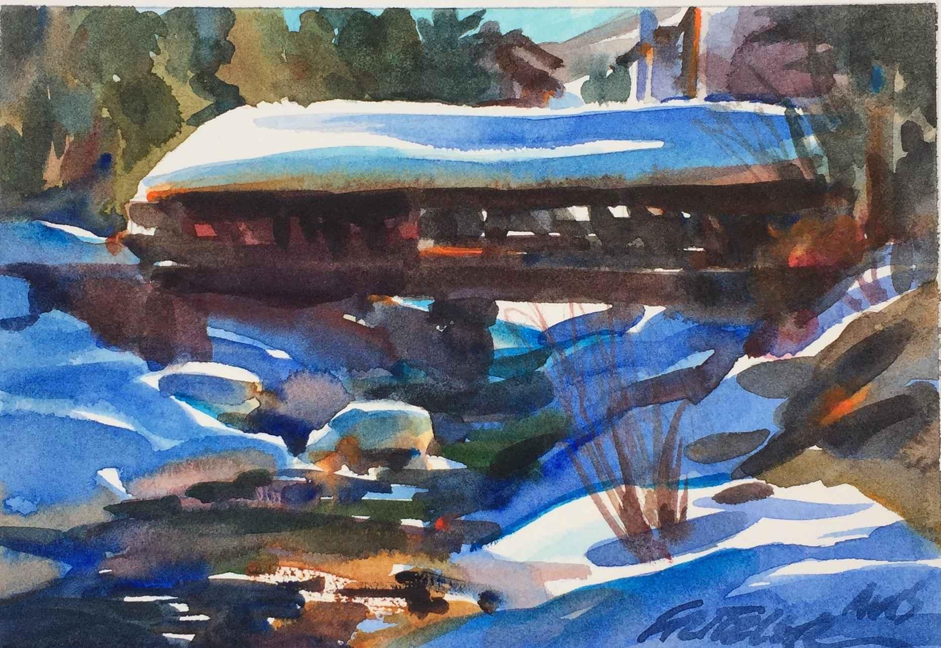Bridge at Vail by Mr. & Mrs. Gerald Fritzler - Masterpiece Online