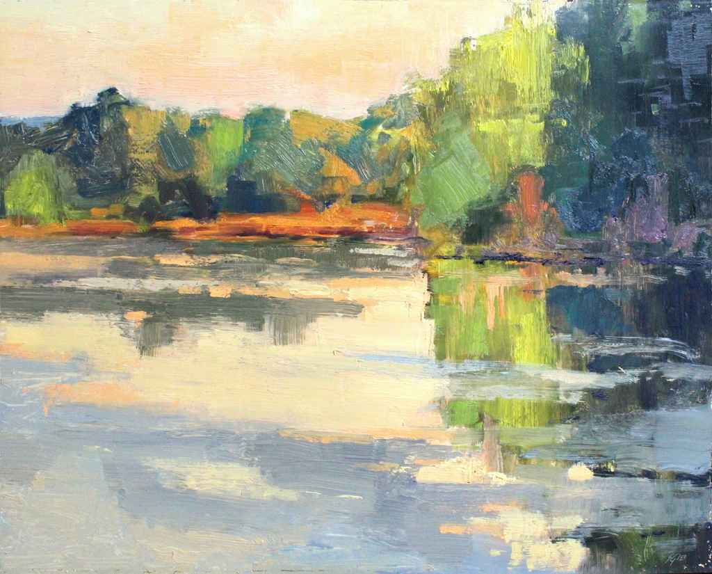 Wetland Mirror  by  Scott Gellatly