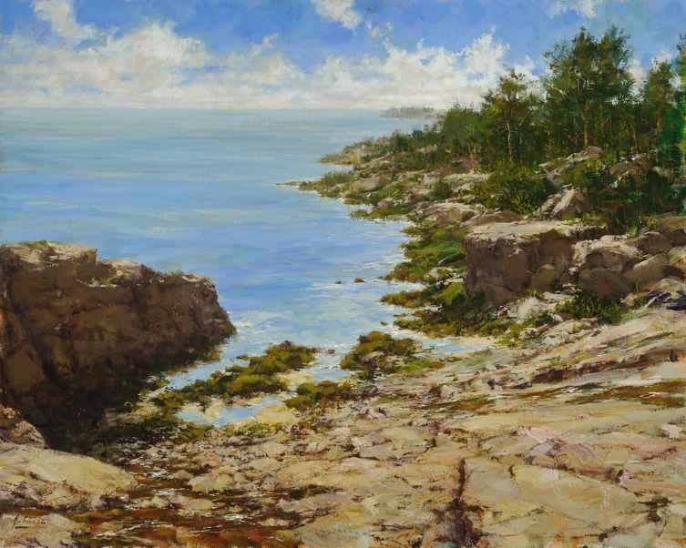 Acadia Afternoon by  Robert A. Johnson, OPAM - Masterpiece Online