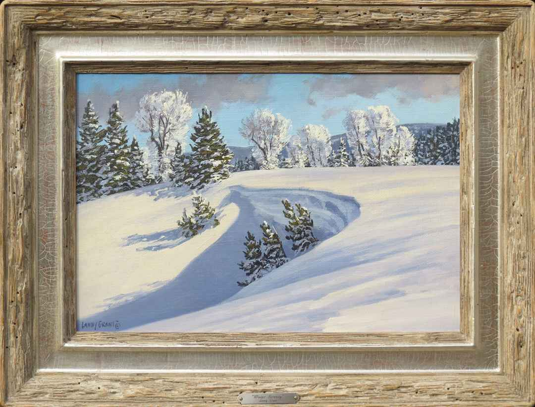 Winter Serenity by  Lanny Grant - Masterpiece Online