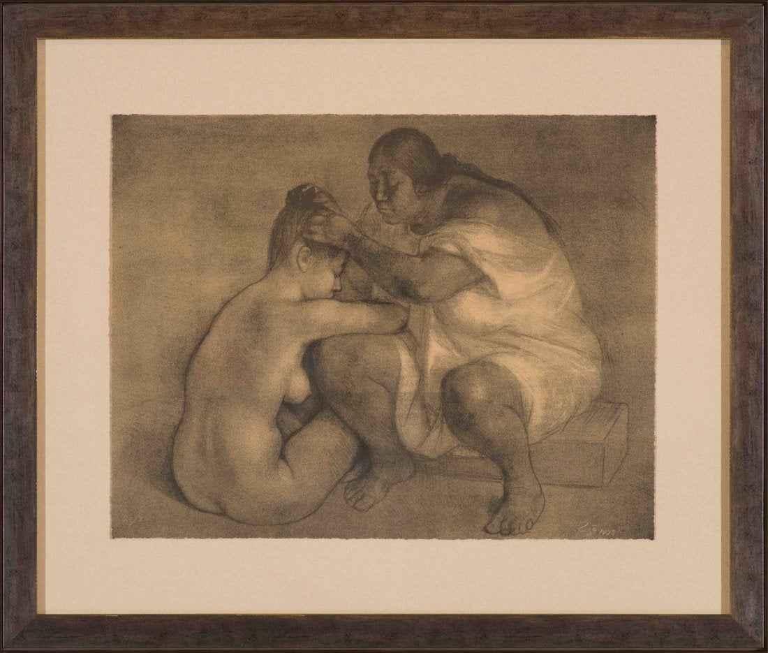 El Peinado (The Combi... by  Francisco Zuniga - Masterpiece Online
