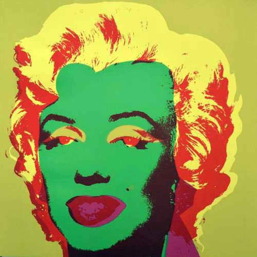 Green Marilyn 11.25 by  Andy Warhol - Masterpiece Online