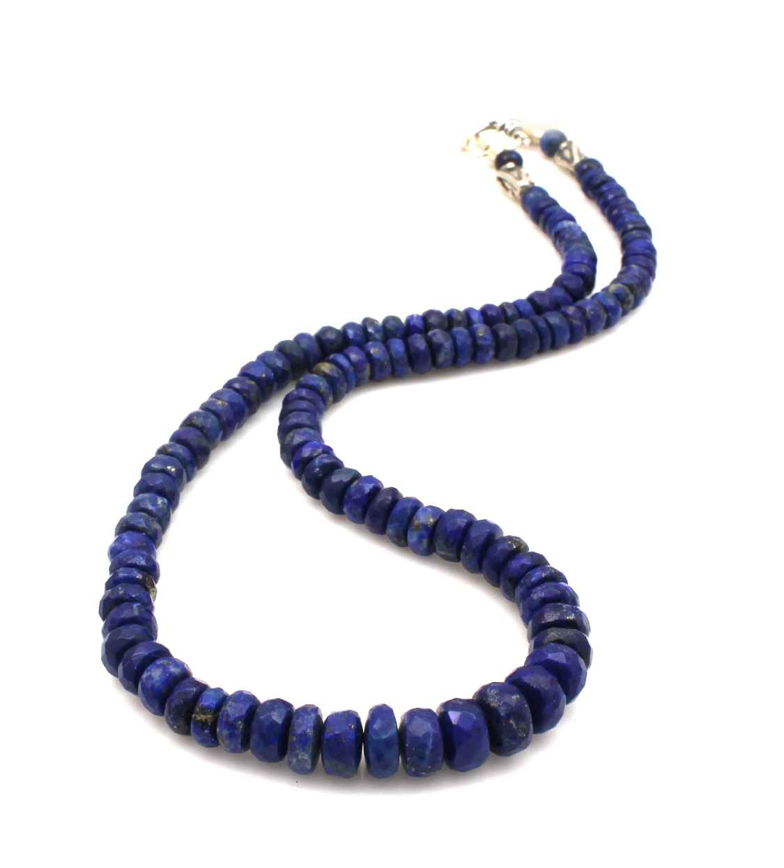 Faceted Lapis Bead Ne... by  Pam Springall - Masterpiece Online
