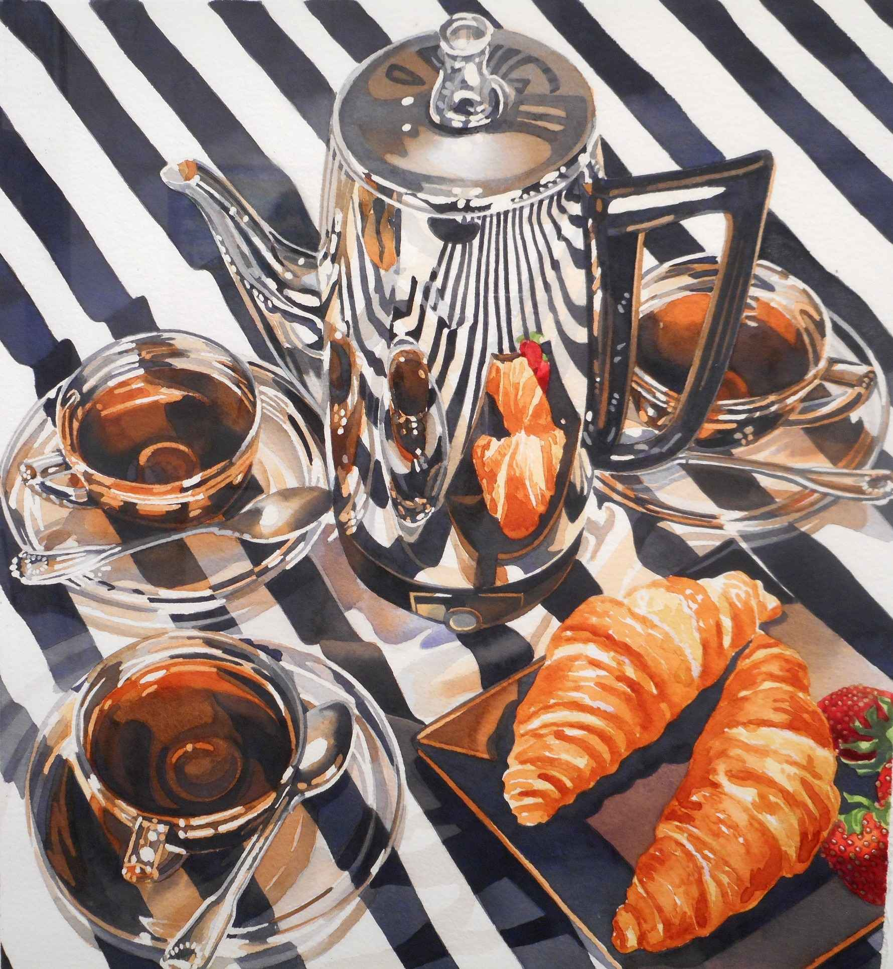 Les Croissant by  Rodney Moser - Masterpiece Online