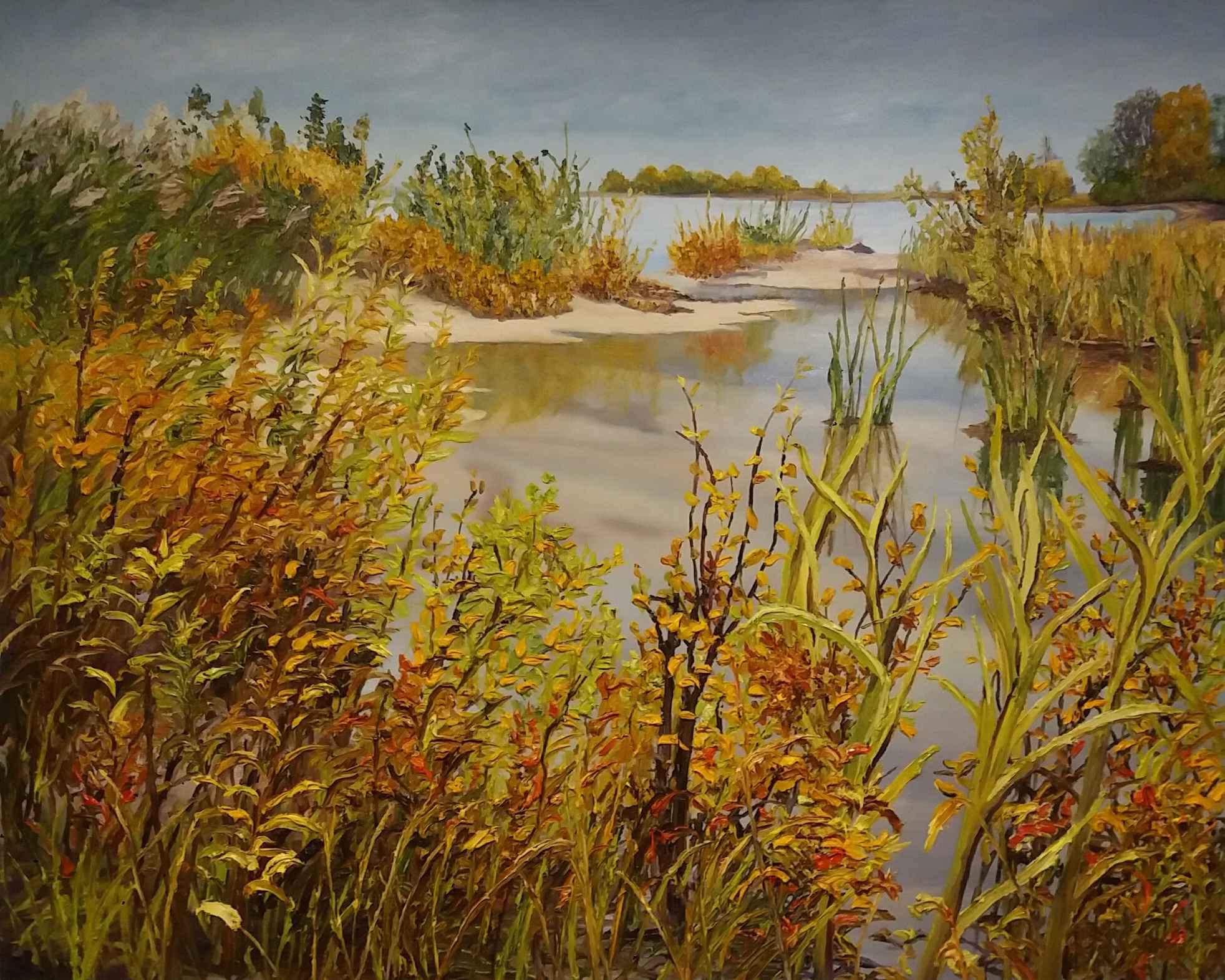Christie Beach Reflec... by Ms Debra Lynn Carroll - Masterpiece Online