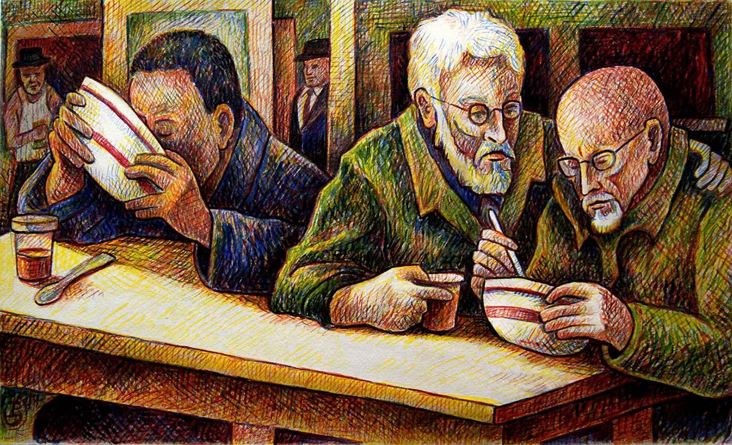 Soup Kitchen by  Patrick Doughman - Masterpiece Online