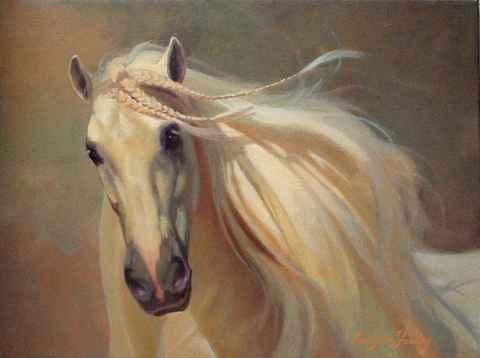 White Knight by  Carolyne Hawley - Masterpiece Online