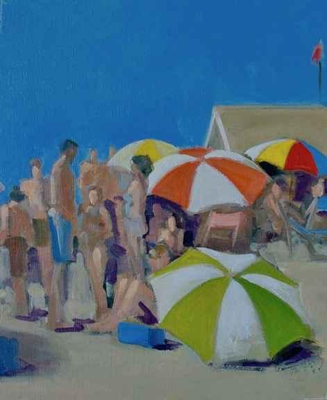 Sunday Crowd by  James Kubiatowicz - Masterpiece Online