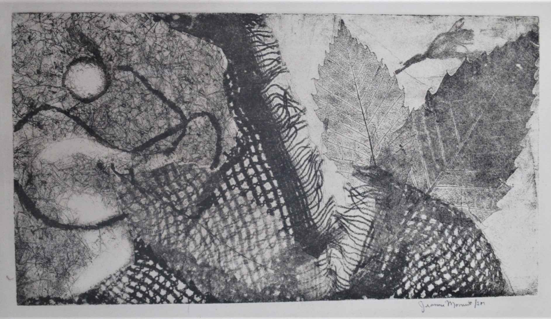 Untitled (leaves etc) by  Jeanne Moment - Masterpiece Online