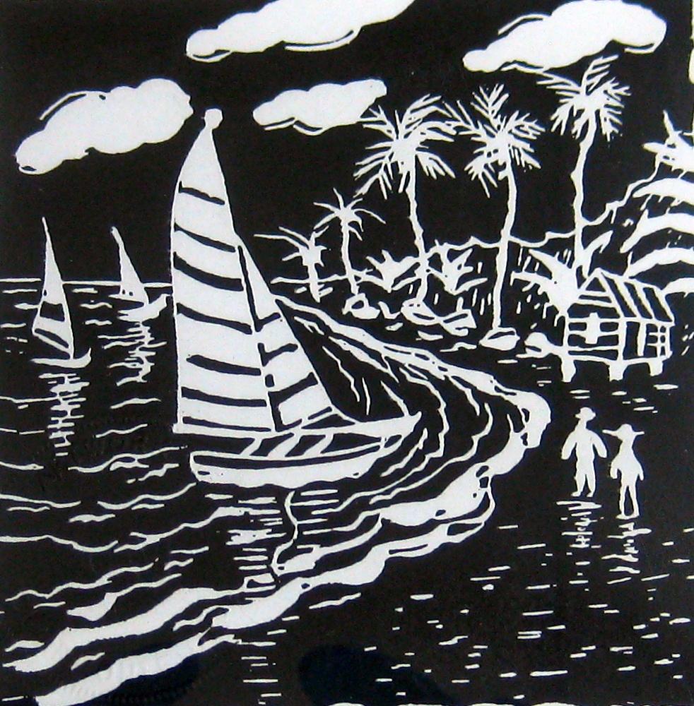 Sailing 1 by Mr. Clairmonte Mapp - Masterpiece Online