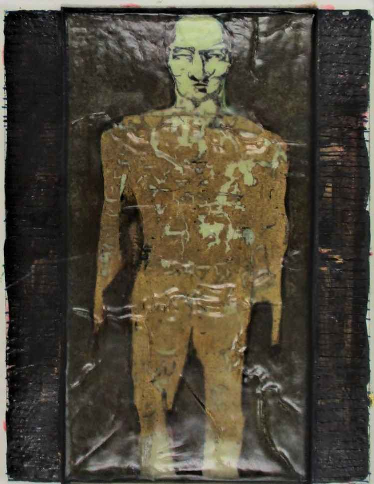 Untitled ( Gold Man) by  Eric Stotik - Masterpiece Online