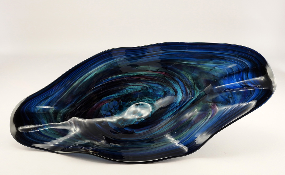 Bowl/Tri-Sea Green by  Lea De Wit - Masterpiece Online