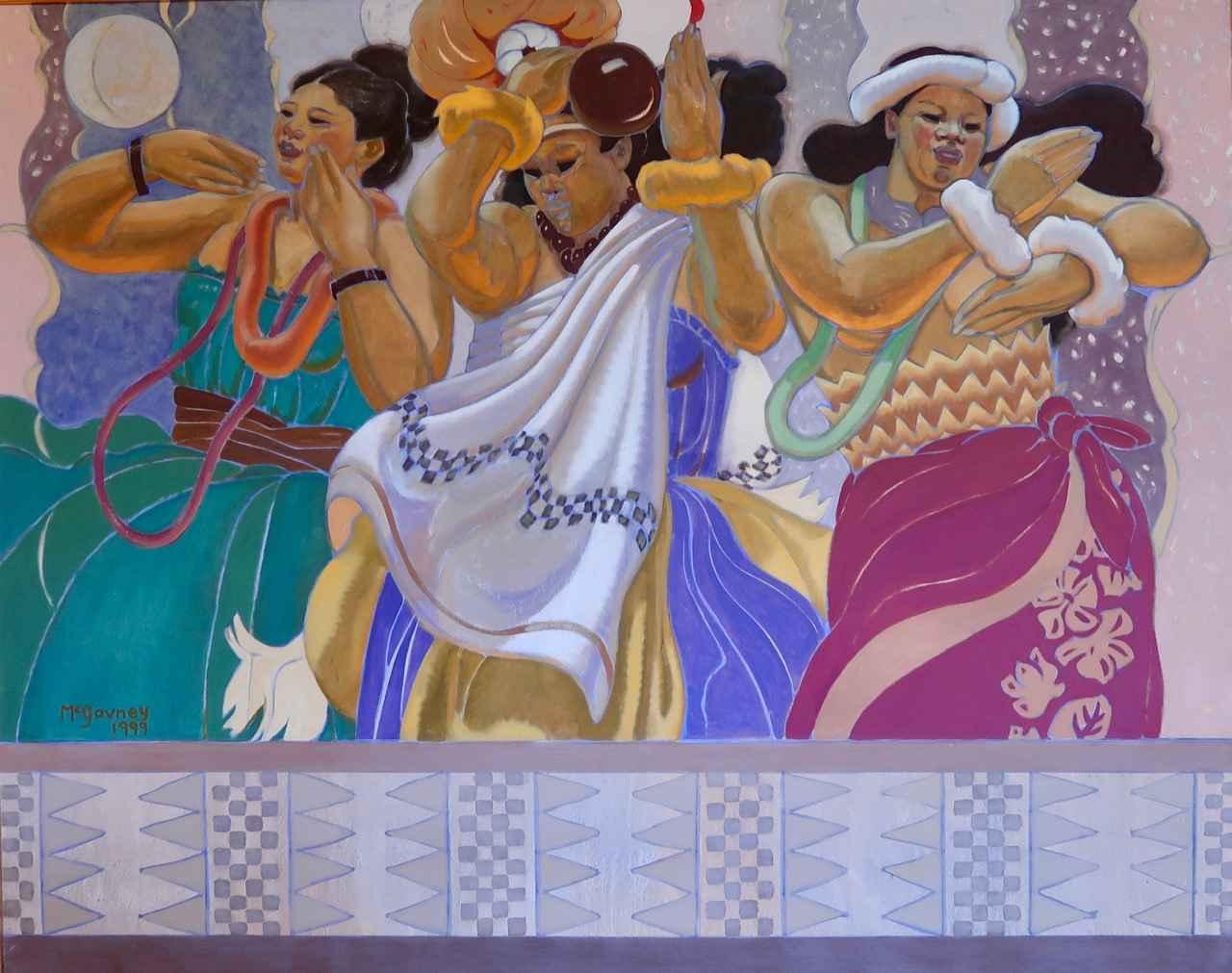 Laule'a by  Susan McGovney Hansen (1933-2011) - Masterpiece Online