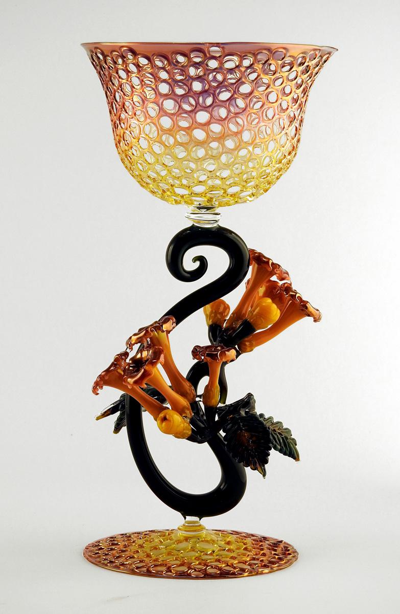 Goblet/Trumpet Vine by  R Jason Howard - Masterpiece Online