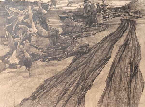 Repairing the Nets by  Daud Akhriev - Masterpiece Online
