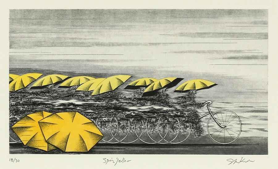 Spring Yellow by  Shigeki Kuroda - Masterpiece Online