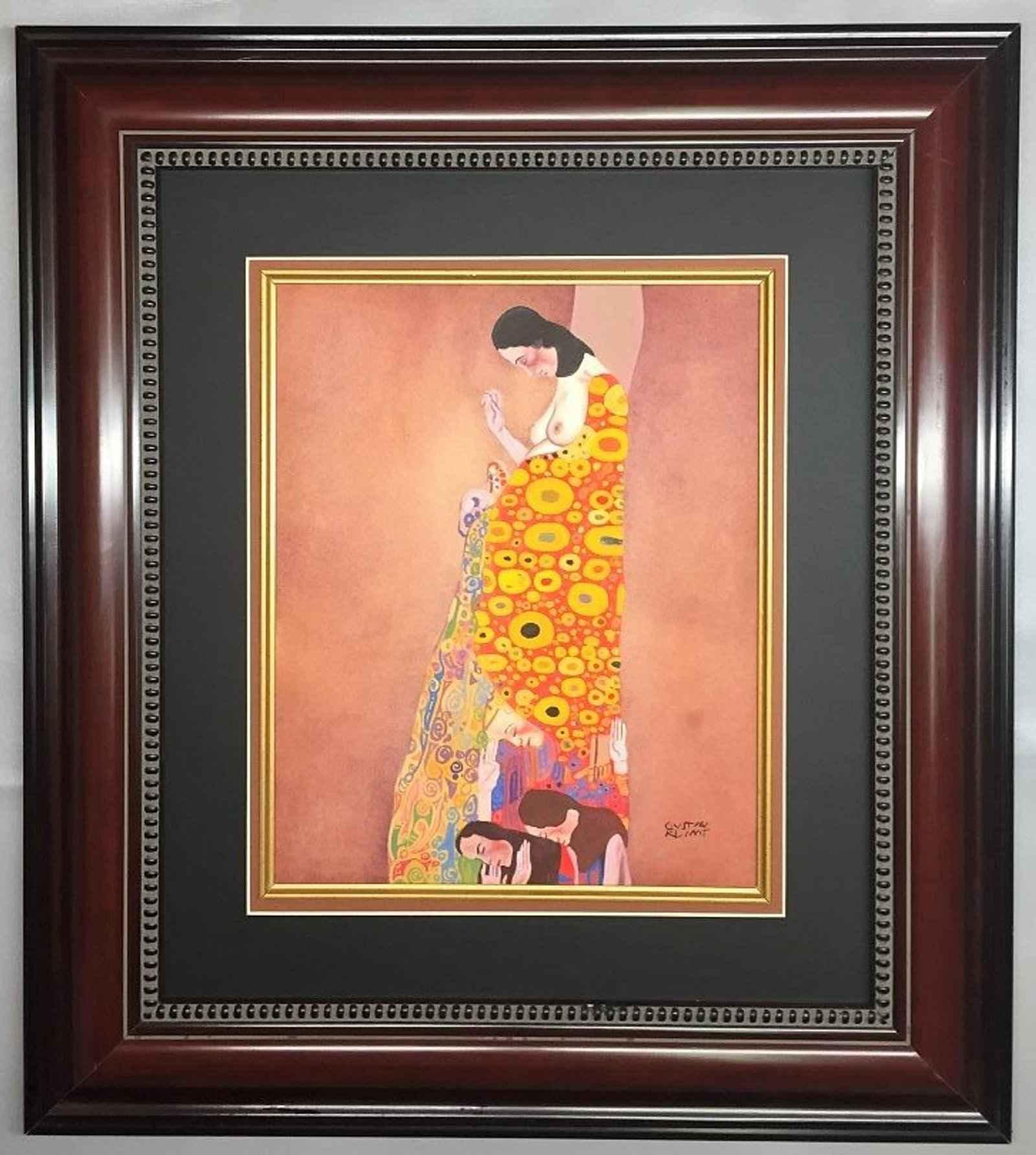 Hope II by  Gustav Klimt - Masterpiece Online