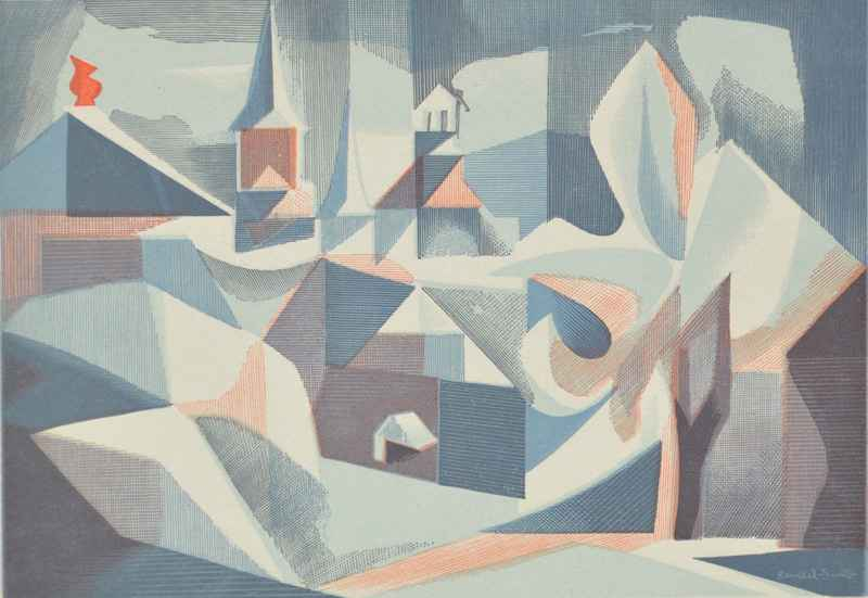 Collonges by  Bernard Brussel-Smith (1914-1989) - Masterpiece Online