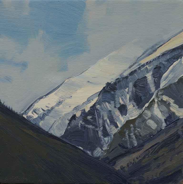Bitterroot Peaks II by  Lisa Grossman - Masterpiece Online