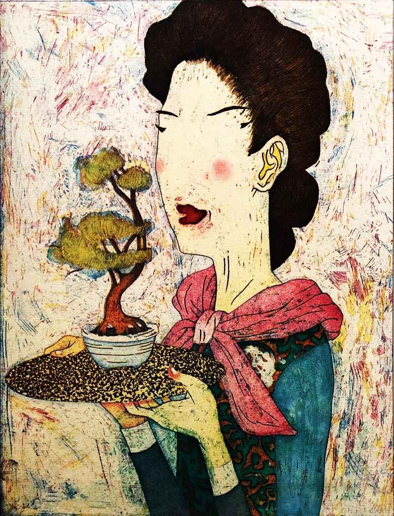 Bonsaist by  Yuji Hiratsuka - Masterpiece Online