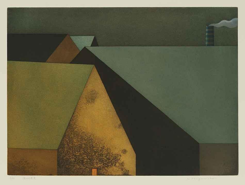 Landscape with Smoke by  Noriwaki Miyamoto - Masterpiece Online