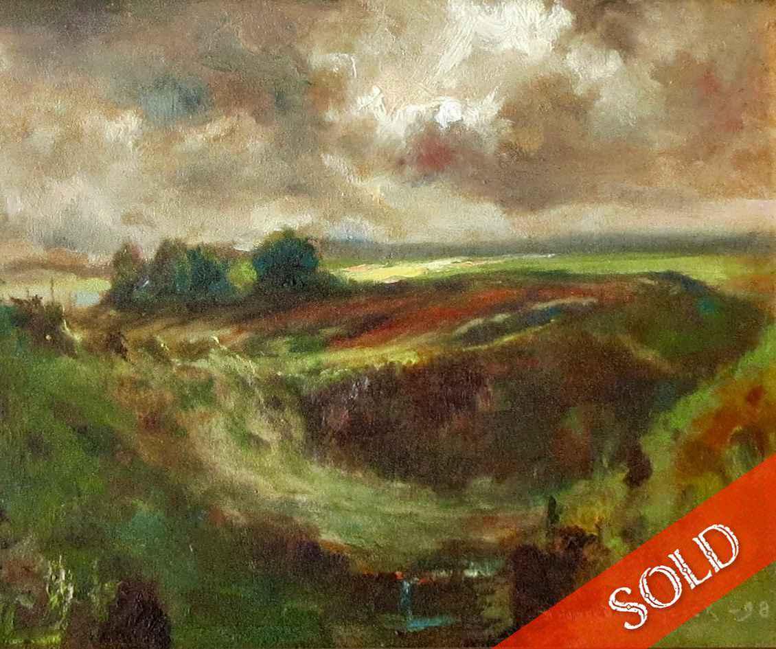 Hamakua Landscape by  David Howard Hitchcock (1861-1943) - Masterpiece Online