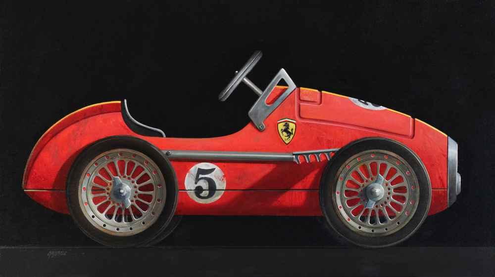 Ferrari No. 5  by  Wendy Chidester