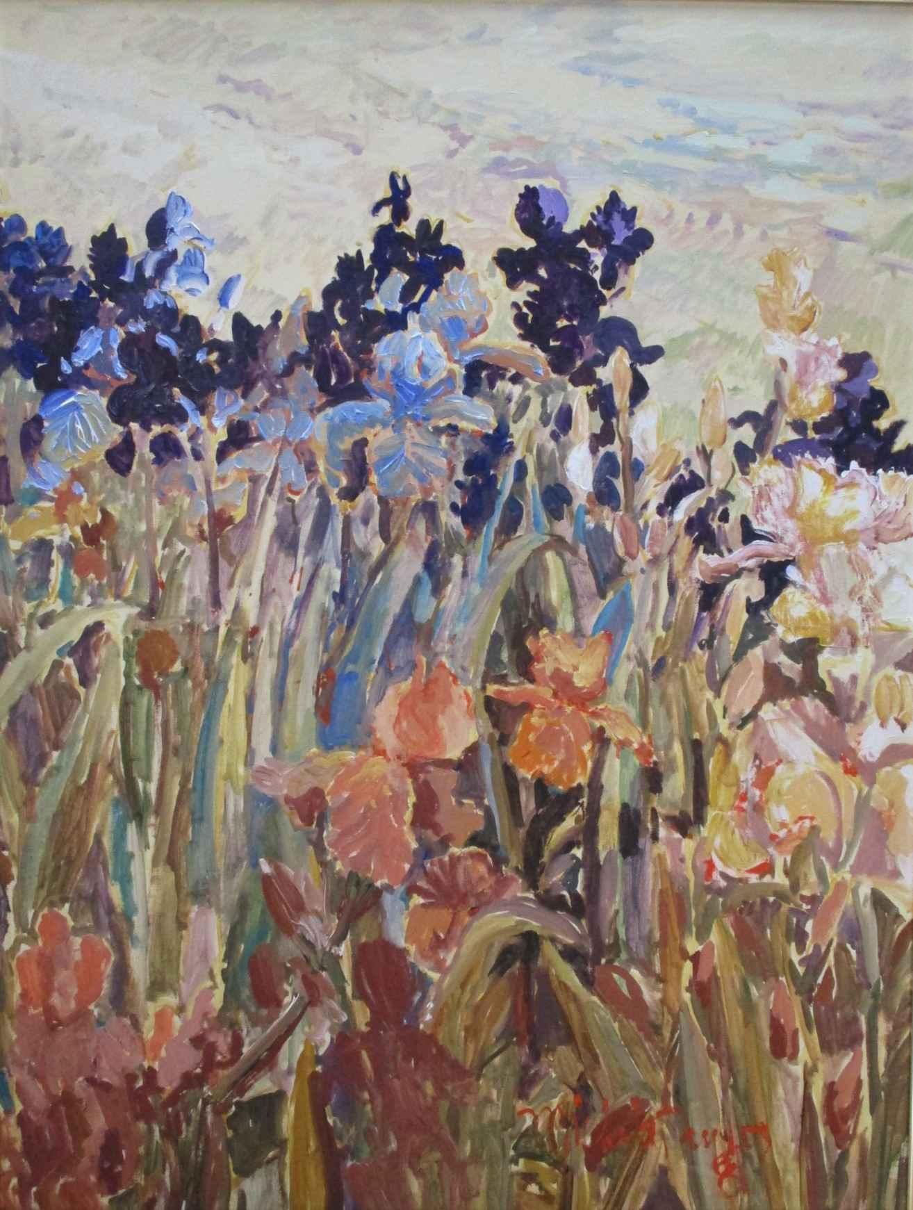 Unknown (Iris field) by  Michelle Taylor - Masterpiece Online
