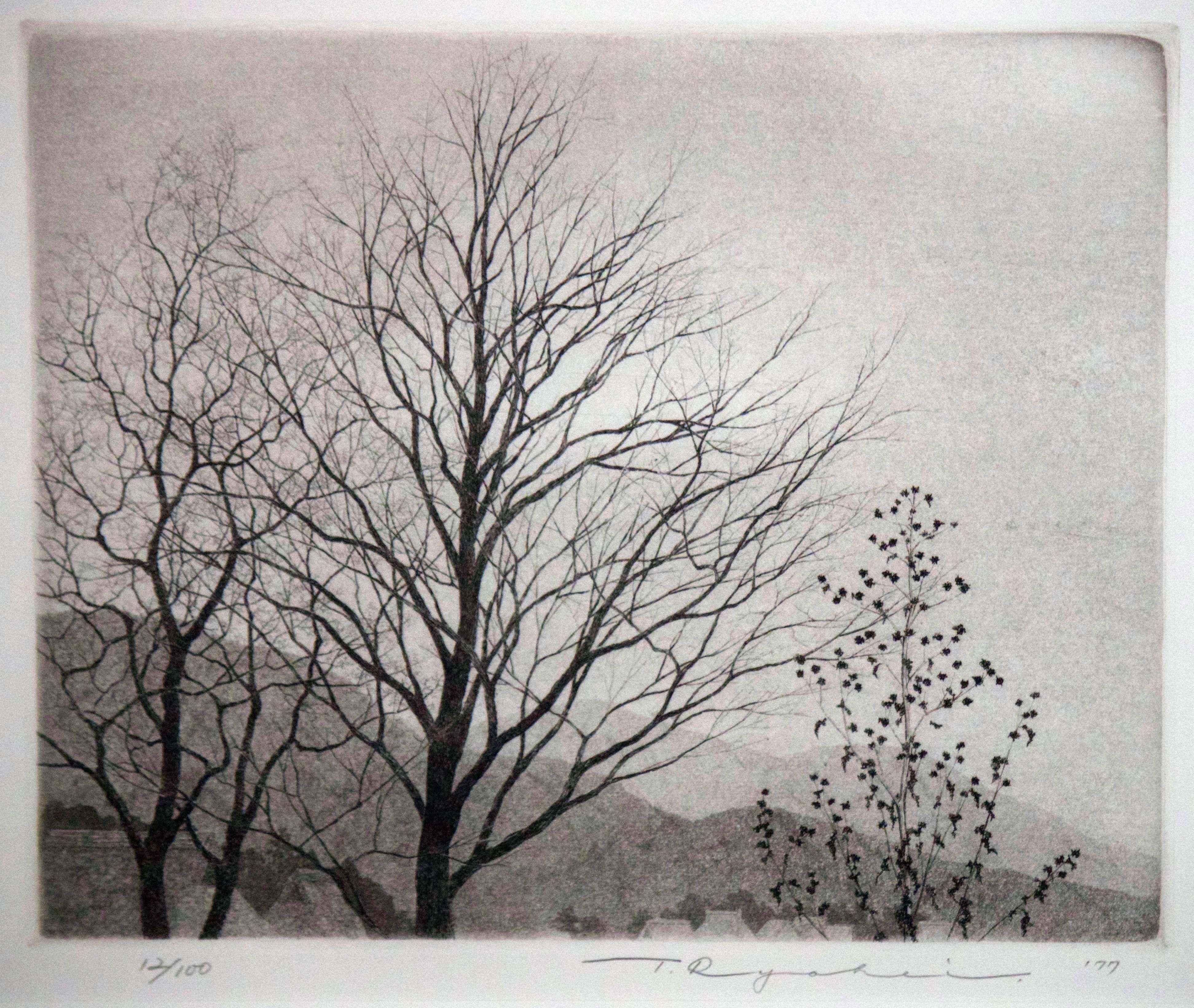 Scenery of Winter Tree by  Ryohei Tanaka - Masterpiece Online