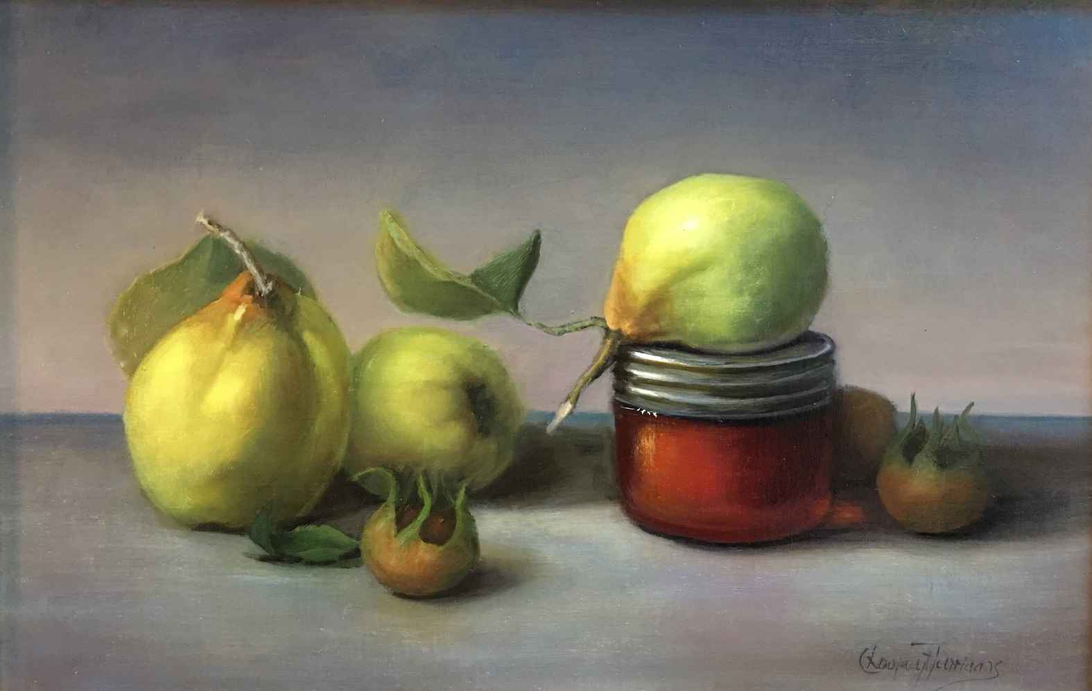 Quince Under Smokey S... by  Cary Jurriaans - Masterpiece Online