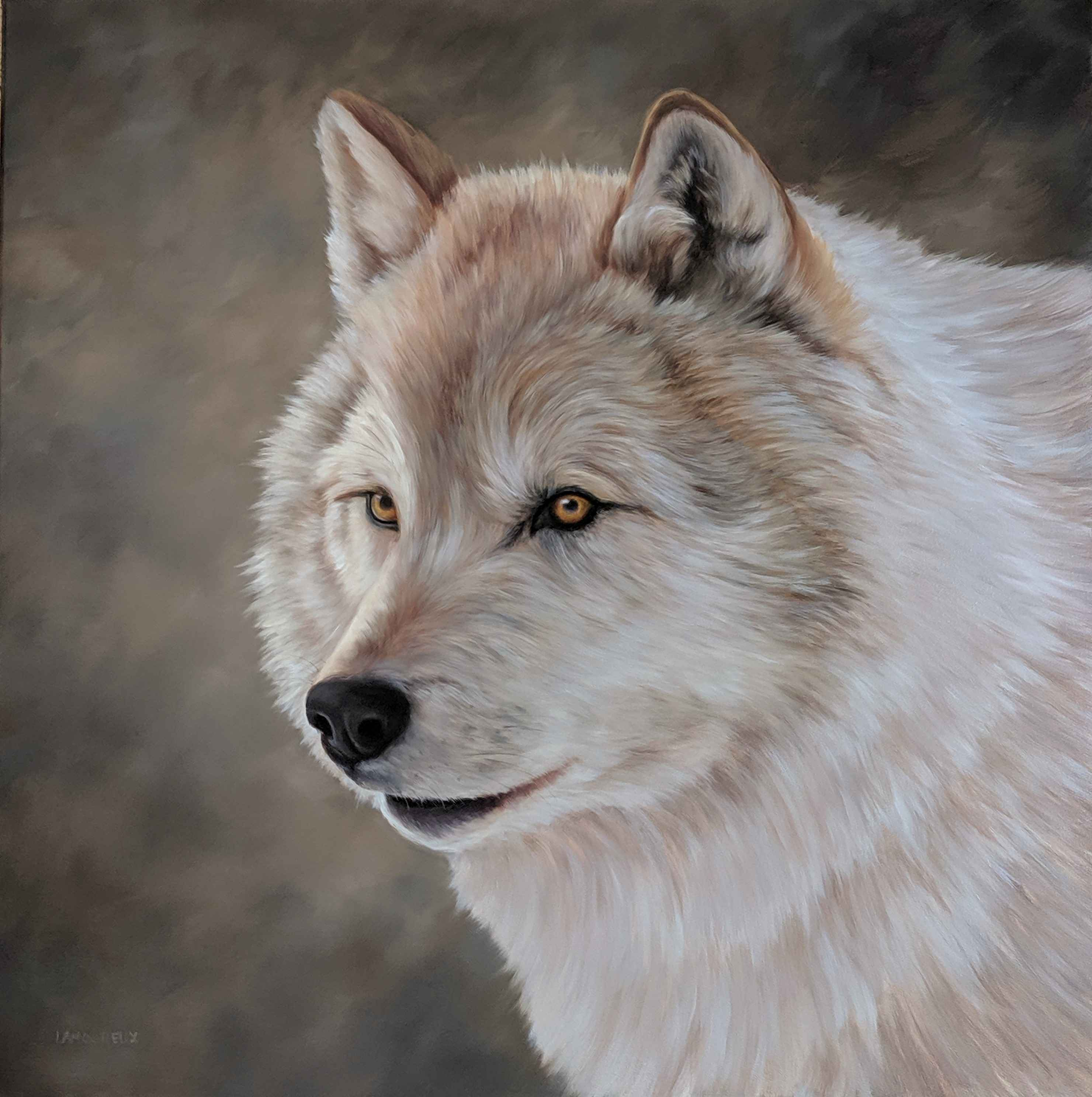 Wolfish Grin by  Julie Lamoureux - Masterpiece Online