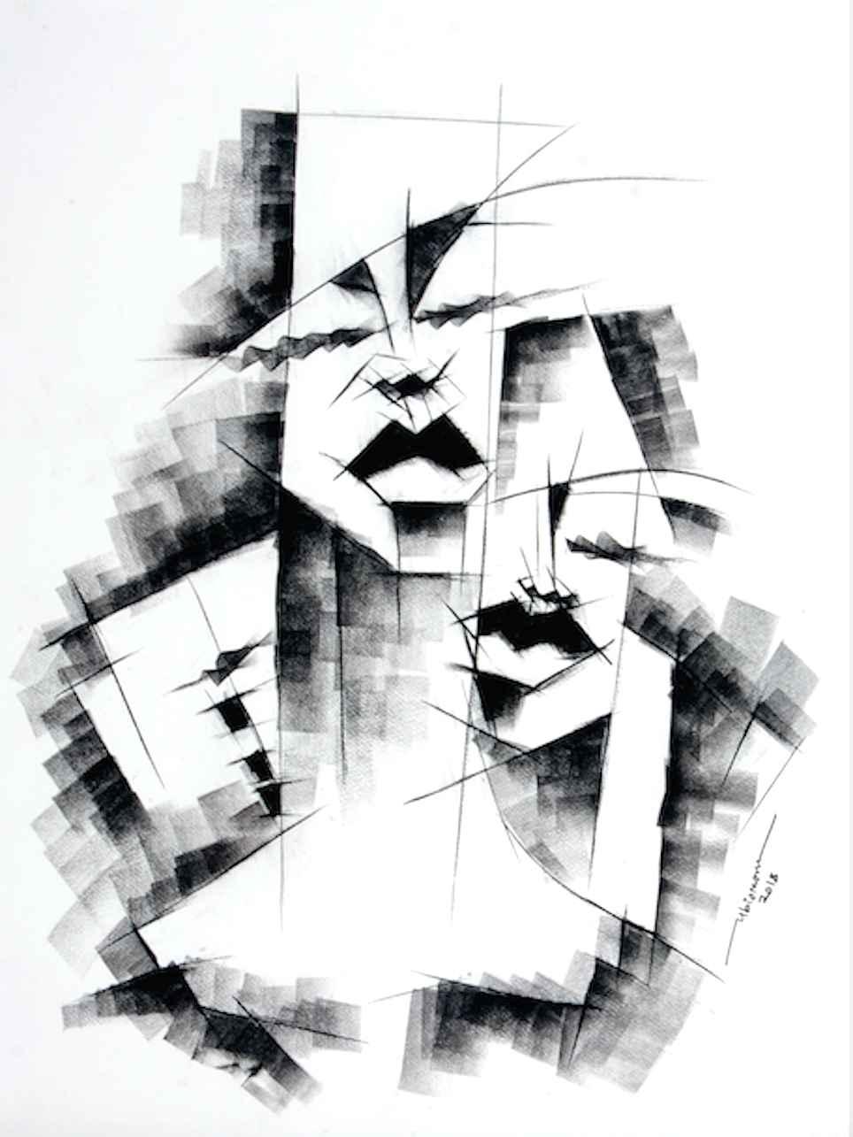 Faces II by Mr Ubiomo Ogheneroh - Masterpiece Online
