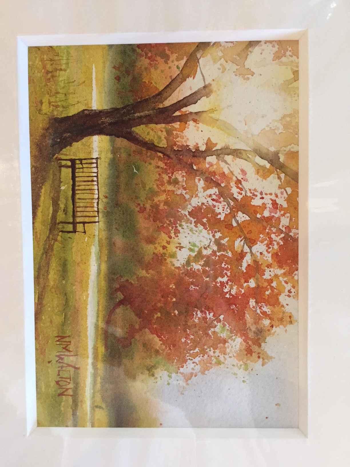 Polly Hill Bench by  Nancy Motley Walton - Masterpiece Online