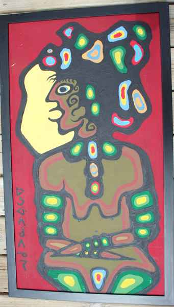 Theressa by  Norval Morrisseau - Masterpiece Online