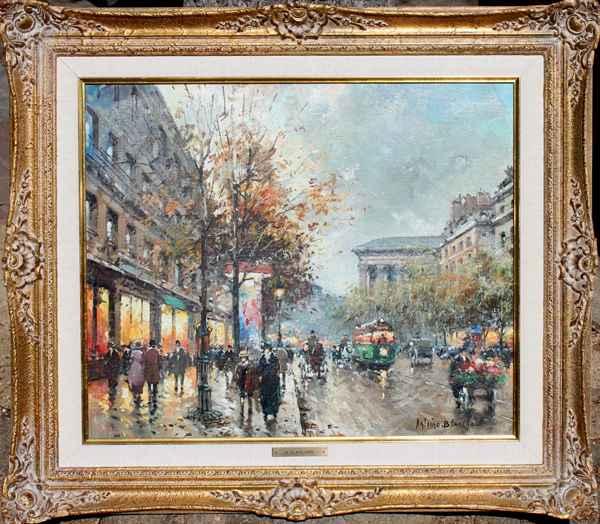 Aux Trois Quartiers by  Antoine  Blanchard  - Masterpiece Online