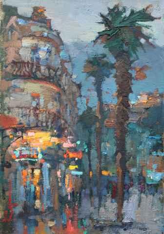 Evening in Yalta by  Slava Korolenkov - Masterpiece Online
