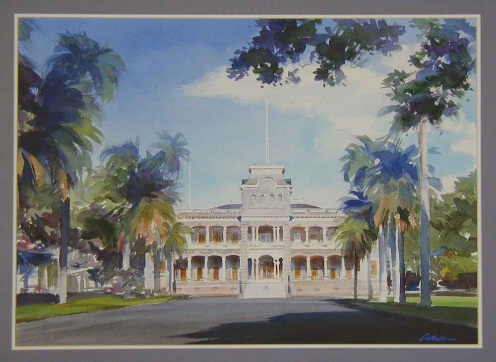 Iolani Palace by  Carter Black - Masterpiece Online