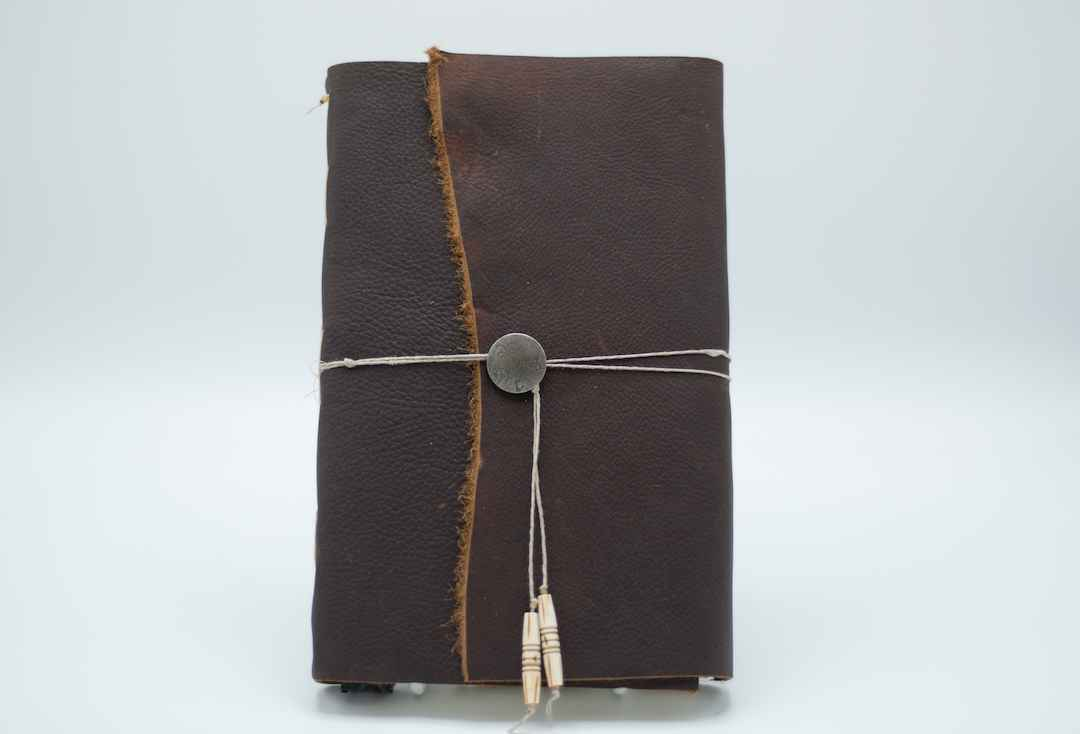 10x6 Brown Leather Jo...