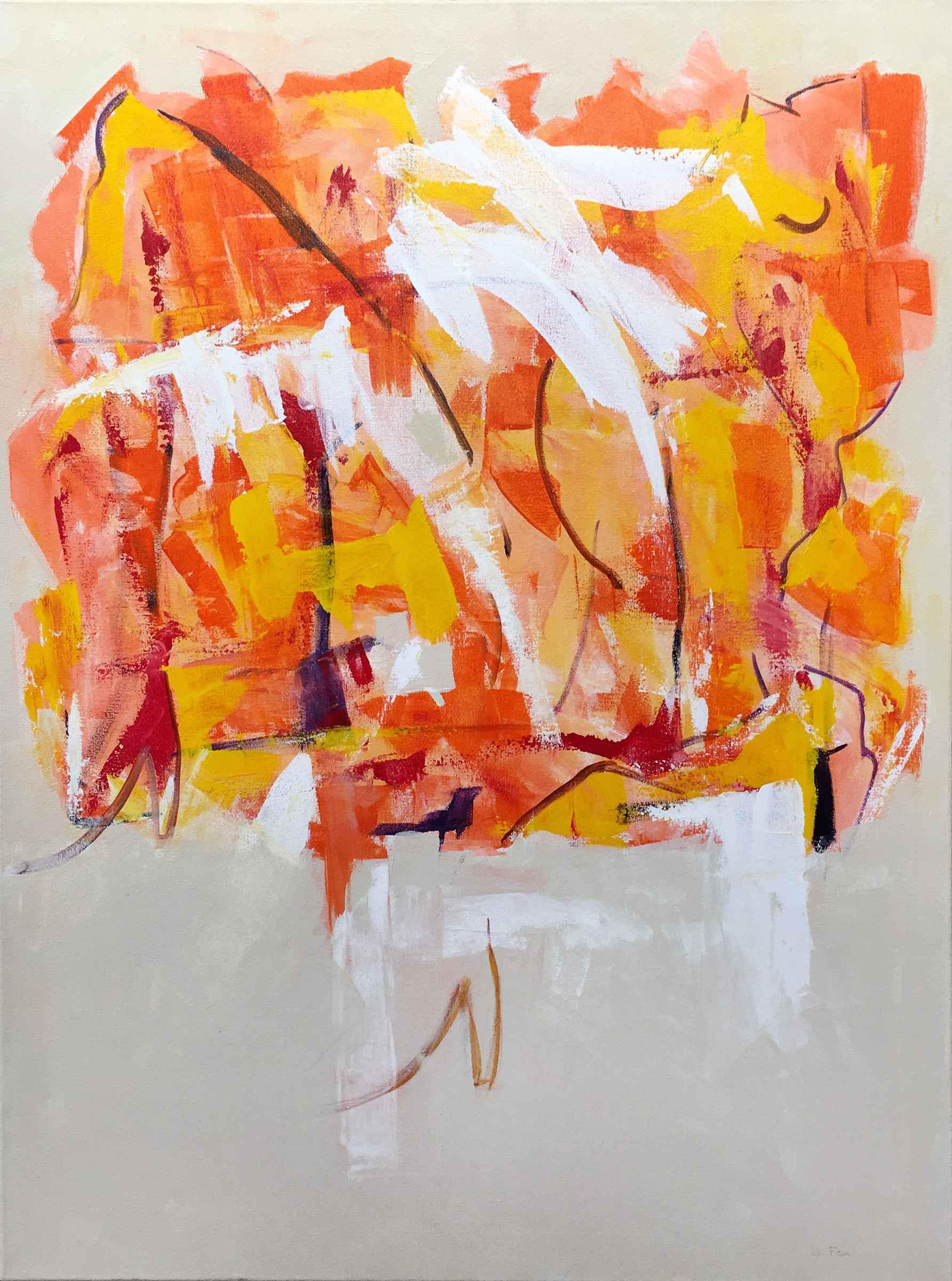 Woman in Red High Hee...  by  Brenda Fox