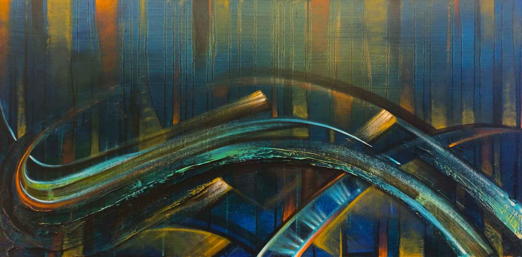 Hummingbird's Flight ... by  Charles Decker - Masterpiece Online