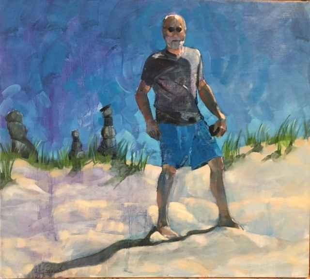 Beach Caper by  Jayne Adams - Masterpiece Online