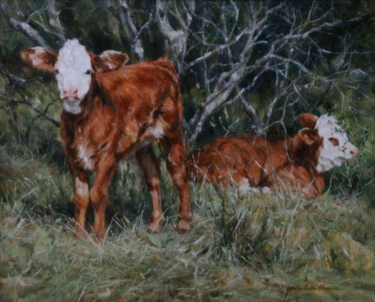 Cousins by  John Austin Hanna - Masterpiece Online