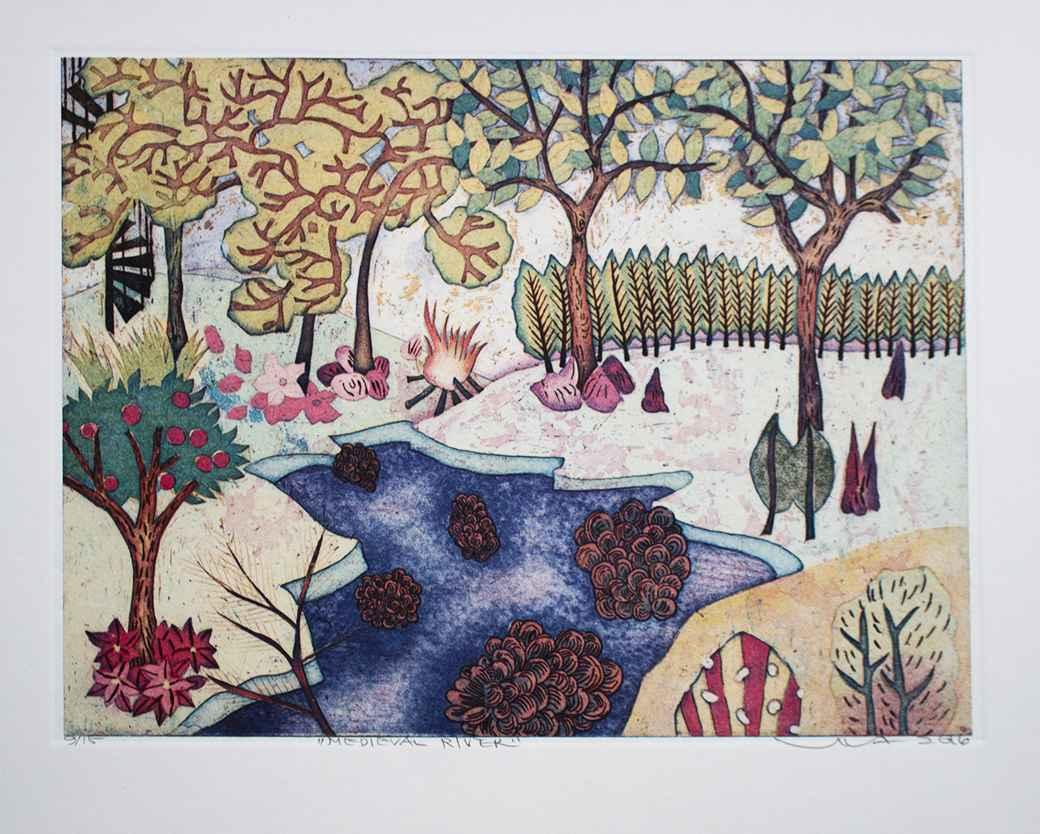 YUHI056 MEDIEVAL RIVER by  Yuji Hiratsuka - Masterpiece Online