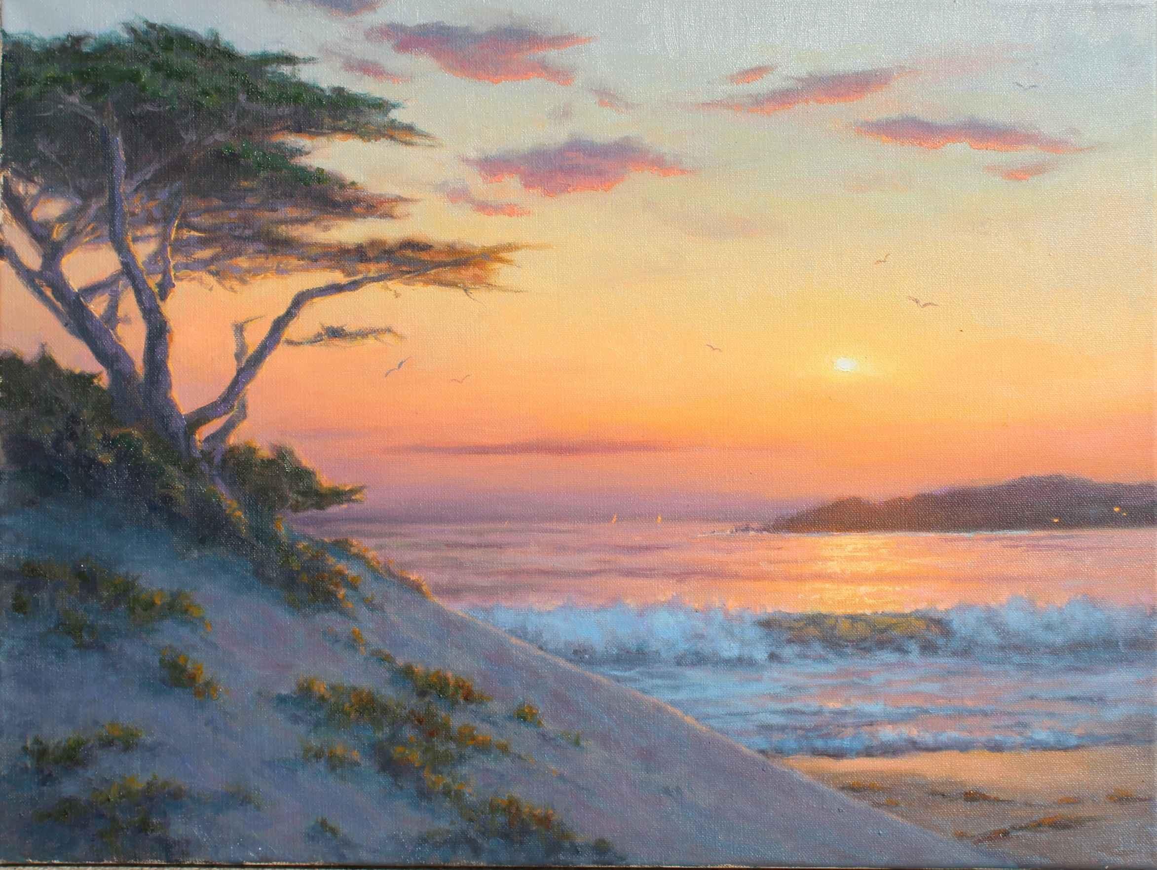 Surf, Sand & Seagulls by  Sally  Jordan - Masterpiece Online